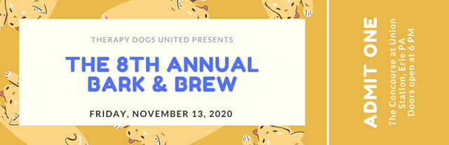 Bark and Brew Event Ticket 1